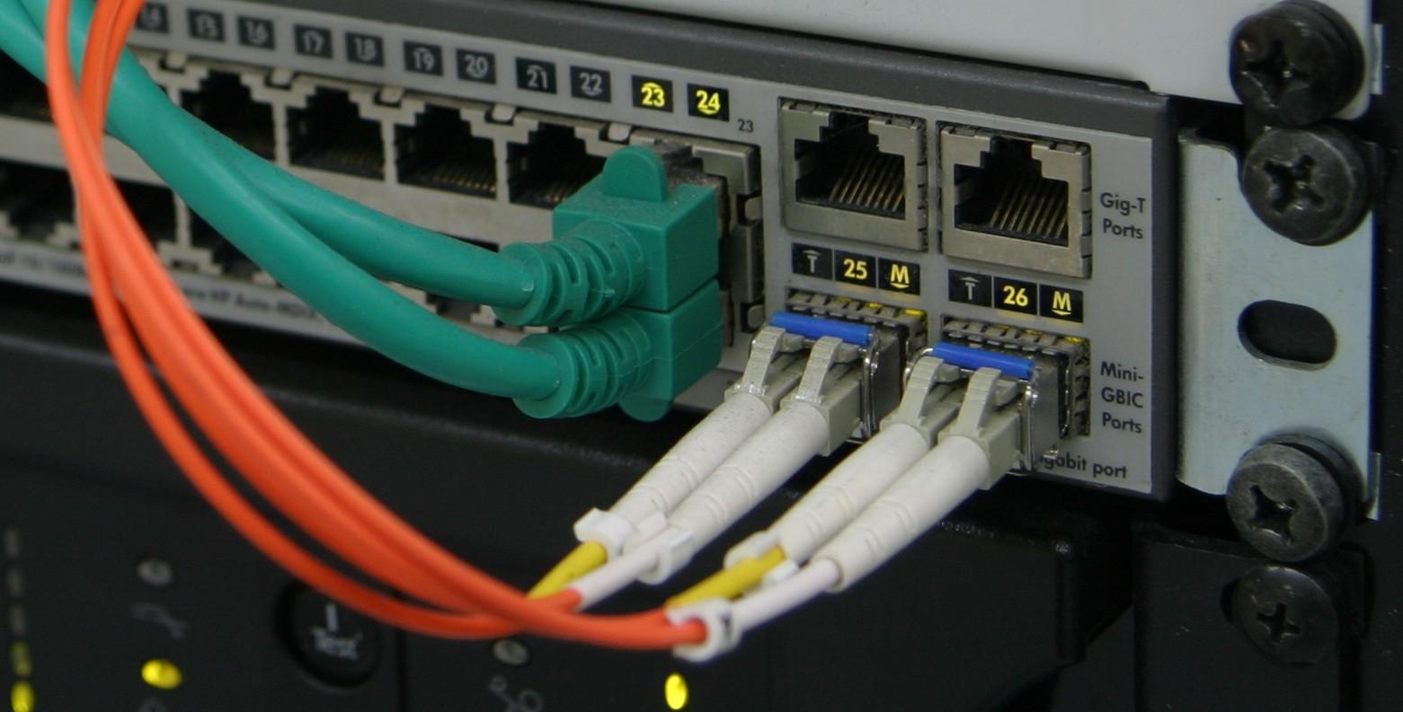 Switch das Rückrad der Netzwerke