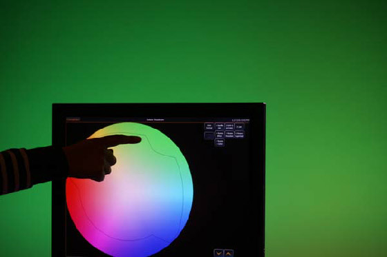 Scheinwerfertyp übergreifender Colorpicker