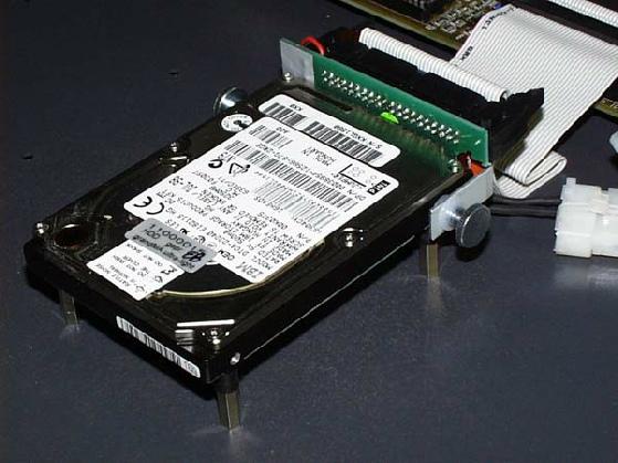 Festplatte gepuffert