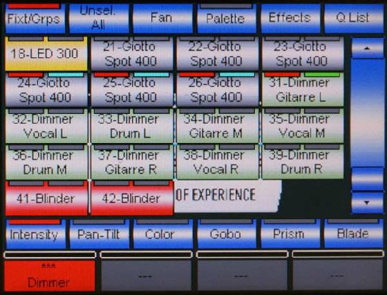 Einfaches  Touch-Anwahl-Feld  mit Reihenfolge  nach ID
