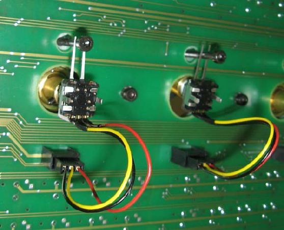 Encoder ohne direkten mechanischen Platinenkonkakt