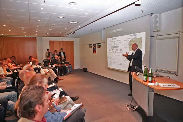 Seminarraum beim Vortrag