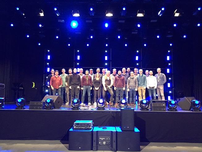 Gruppenbild R&D Adam HAll